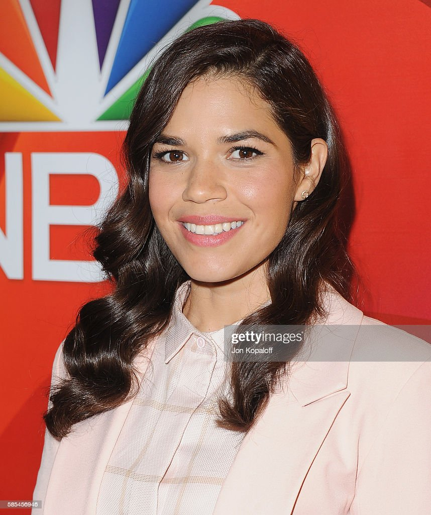 Actress America Ferrera arrives at the 2016 Summer TCA Tour - NBCUniversal Press Tour Day 1 at The Beverly Hilton Hotel on August 2, 2016 in Beverly Hills, California.