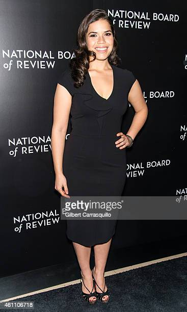 Actress America Ferrera attends the 2014 National Board of Review Gala at Cipriani 42nd Street on January 6 2015 in New York City