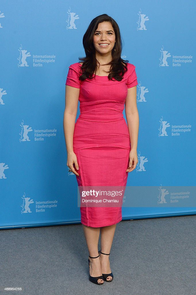 Actress America Ferrera attends the 'Cesar Chavez' photocall during 64th Berlinale International Film Festival at Grand Hyatt Hotel on February 12, 2014 in Berlin, Germany.