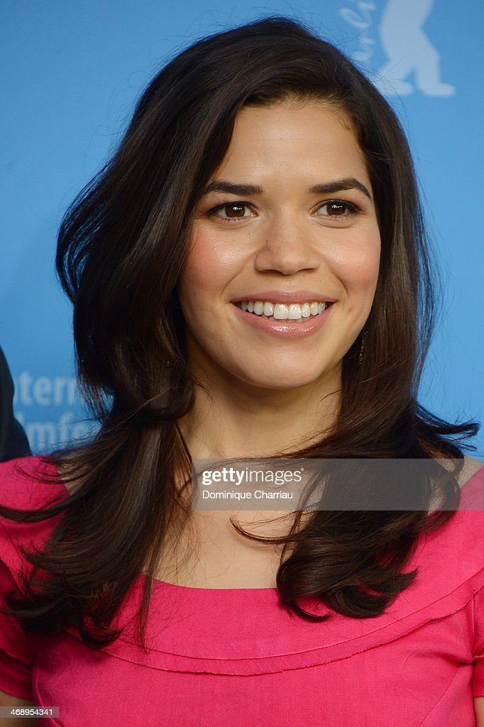 Actress <a gi-track='captionPersonalityLinkClicked' href=/galleries/search?phrase=America+Ferrera&family=editorial&specificpeople=216393 ng-click='$event.stopPropagation()'>America Ferrera</a> attends the 'Cesar Chavez' photocall during 64th Berlinale International Film Festival at Grand Hyatt Hotel on February 12, 2014 in Berlin, Germany.