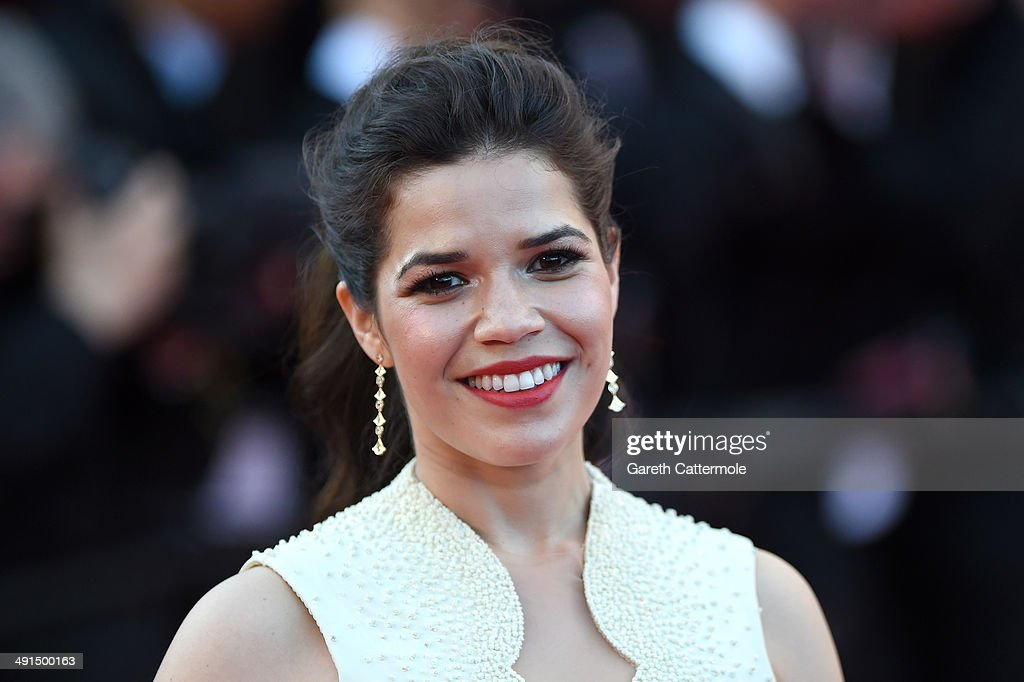 Actress <a gi-track='captionPersonalityLinkClicked' href=/galleries/search?phrase=America+Ferrera&family=editorial&specificpeople=216393 ng-click='$event.stopPropagation()'>America Ferrera</a> attends the 'How To Train Your Dragon 2' premiere during the 67th Annual Cannes Film Festival on May 16, 2014 in Cannes, France.