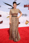 Actress America Ferrera attends the premiere of 'How To Train Your Dragon 2' at Regency Village Theatre on June 8 2014 in Westwood California
