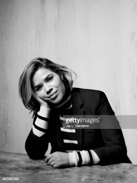 Actress America Ferrera from the new webseries Gentefied and NBC's 'Superstore' is photographed at the 2017 Sundance Film Festival for Los Angeles...