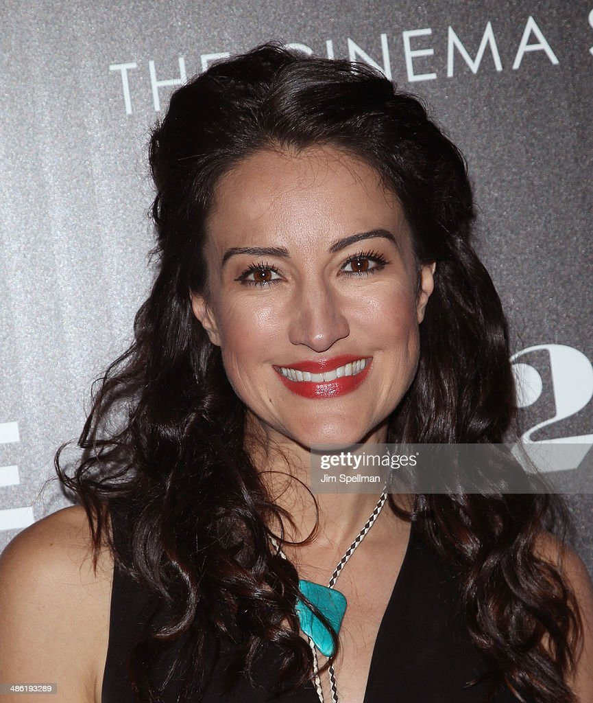 Actress <a gi-track='captionPersonalityLinkClicked' href=/galleries/search?phrase=America+Olivo&family=editorial&specificpeople=5296056 ng-click='$event.stopPropagation()'>America Olivo</a> attends the A24 and The Cinema Society premiere of 'Locke' at The Paley Center for Media on April 22, 2014 in New York City.
