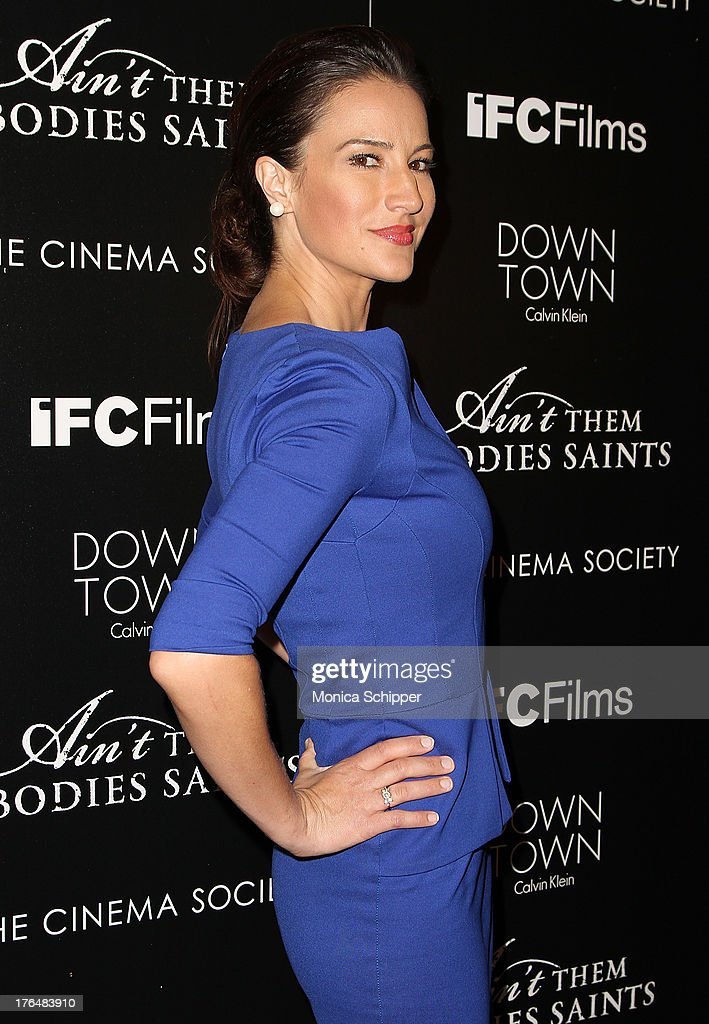Actress <a gi-track='captionPersonalityLinkClicked' href=/galleries/search?phrase=America+Olivo&family=editorial&specificpeople=5296056 ng-click='$event.stopPropagation()'>America Olivo</a> attends the Downtown Calvin Klein with The Cinema Society screening of IFC Films' 'Ain't Them Bodies Saints' at The Museum of Modern Art on August 13, 2013 in New York City.