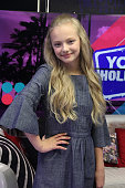 Amiah Miller Visits Young Hollywood Studio