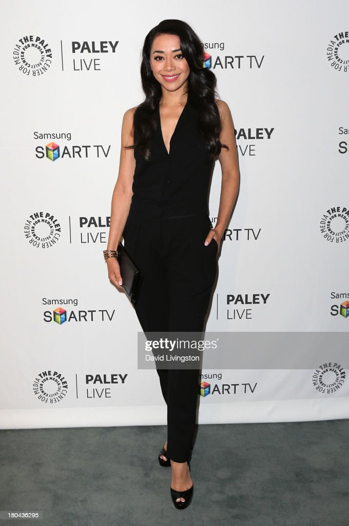Actress Amiee Garcia attends PaleyFestPreviews: Fall TV - Fall Farewell: 'Dexter' at The Paley Center for Media on September 12, 2013 in Beverly Hills, California.