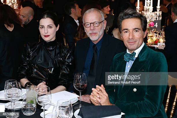 Actress Amira Casar Actor Pascal Greggory and Vincent dare attend the Annual Charity Dinner hosted by the AEM Association Children of the World for...