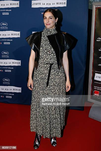 Actress Amira Casar attends the 'Juste la fin du Monde' Paris Premiere at Mk2 Bibliotheque on September 15 2016 in Paris France