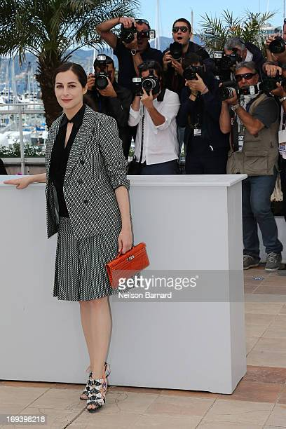 Actress Amira Casar attends the 'Michael Kohlhaas' photocall during The 66th Annual Cannes Film Festival at the Palais des Festivals on May 24 2013...