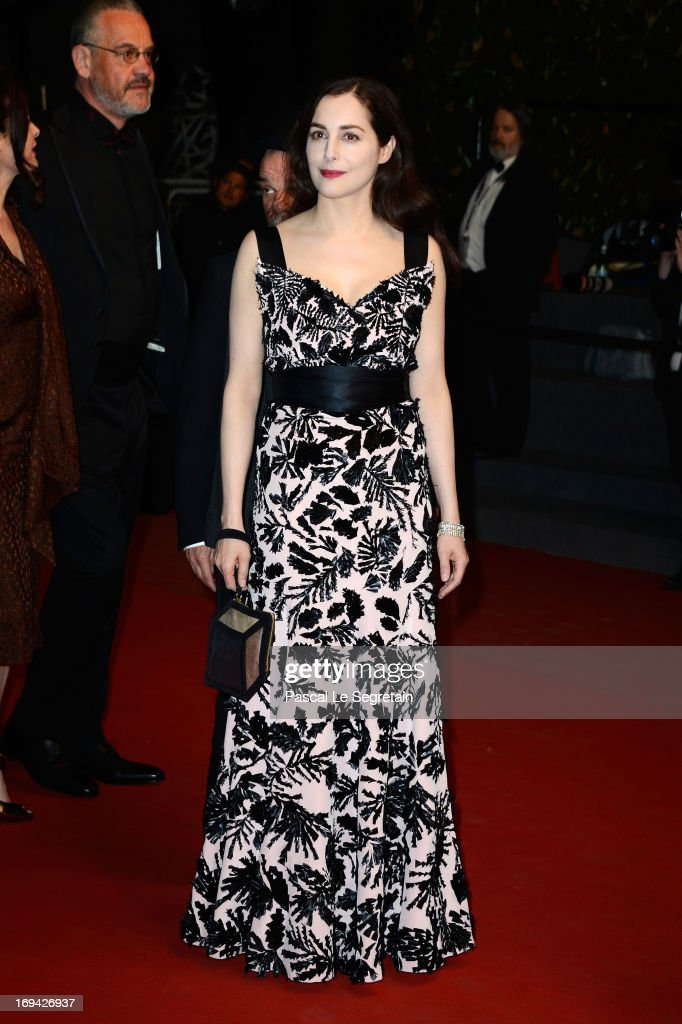 Actress Amira Casar attends the 'Michael Kohlhaas' premiere during The 66th Annual Cannes Film Festival at the Palais des Festival on May 24, 2013 in Cannes, France.