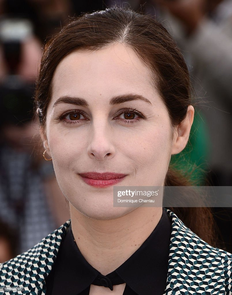 Actress Amira Casar attends the photocall for 'Michael Kohlhaas' at The 66th Annual Cannes Film Festival at Palais des Festivals on May 24, 2013 in Cannes, France.