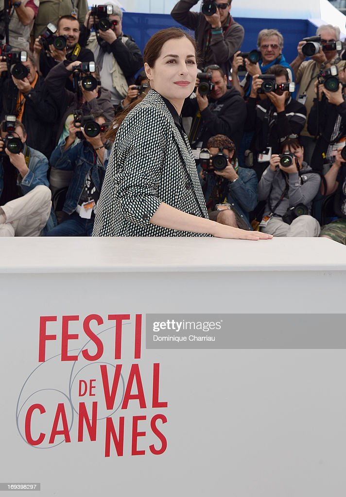 Actress <a gi-track='captionPersonalityLinkClicked' href=/galleries/search?phrase=Amira+Casar&family=editorial&specificpeople=239076 ng-click='$event.stopPropagation()'>Amira Casar</a> attends the photocall for 'Michael Kohlhaas' at The 66th Annual Cannes Film Festival at Palais des Festivals on May 24, 2013 in Cannes, France.