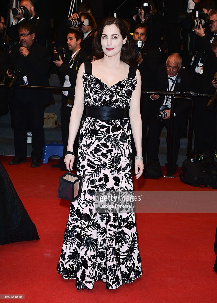 Actress Amira Casar attends the Premiere of 'Michael Kohlhaas' at The 66th Annual Cannes Film Festival on May 24, 2013 in Cannes, France.
