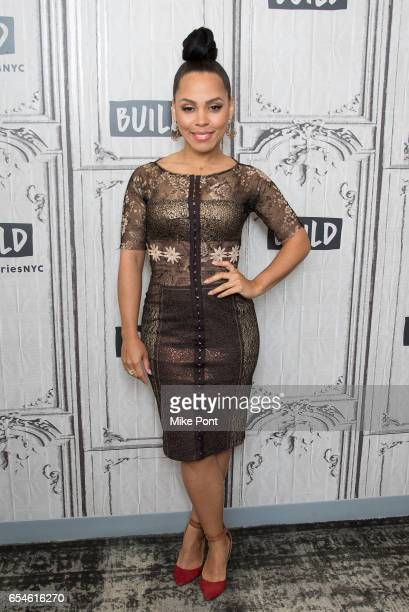 Actress Amirah Vann attends Build Series to discuss 'Underground' at Build Studio on March 17 2017 in New York City