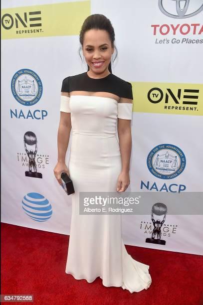 Actress Amirah Vann attends the 48th NAACP Image Awards at Pasadena Civic Auditorium on February 11 2017 in Pasadena California