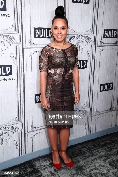 Actress Amirah Vann visits Build series to discuss the WGN America show 'Underground' at Build Studio on March 17 2017 in New York City