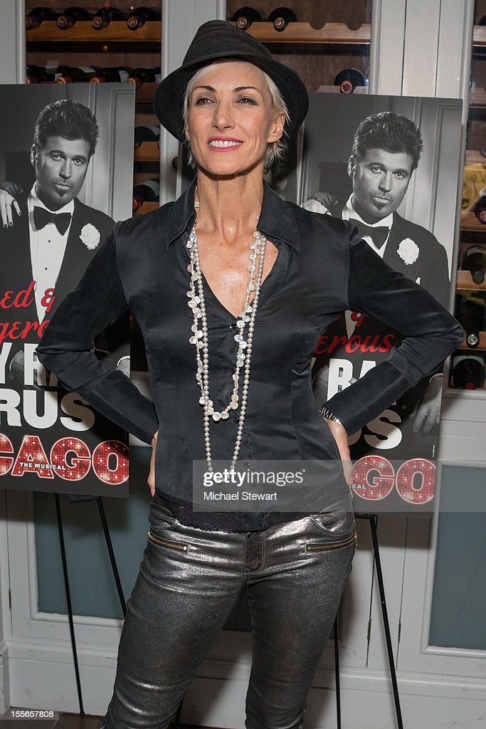 Actress Amra-Faye Wright attends the post show celebration for Billy Ray Cyrus' Broadway debut in 'Chicago' at Victor's Cafe on November 5, 2012 in New York City.