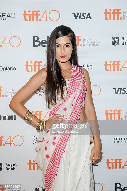 Actress Amrit Maghera attends premiere of 'Angry Indian Godesses' at the 2015 Toronto International Film Festival at The Elgin on September 18 2015...