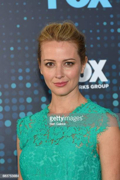 Actress Amy Acker attends the 2017 FOX Upfront at Wollman Rink on May 15 2017 in New York City