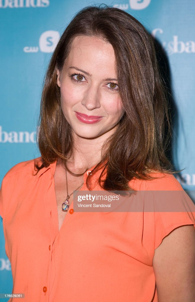 Actress <a gi-track='captionPersonalityLinkClicked' href=/galleries/search?phrase=Amy+Acker&family=editorial&specificpeople=715944 ng-click='$event.stopPropagation()'>Amy Acker</a> attends the CWSeed 'Husbands' premiere at The Paley Center for Media on August 14, 2013 in Beverly Hills, California.