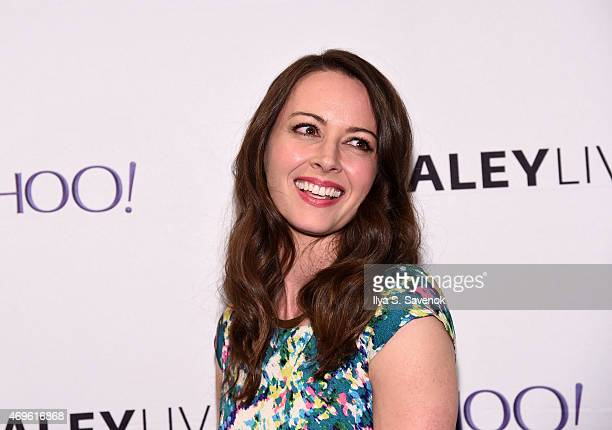 Actress Amy Acker attends The Paley Center For Media Hosts An Evening With 'Person Of Interest' at The Paley Center for Media on April 13 2015 in New...