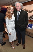 Actress Amy Adams and editor of Vanity Fair Graydon Carter attend the Vanity Fair Super Bowl Party hosted by Graydon Carter Jon Bon Jovi Honors Super...