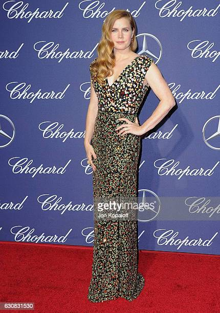 Actress Amy Adams arrives at the 28th Annual Palm Springs International Film Festival Film Awards Gala at Palm Springs Convention Center on January 2...
