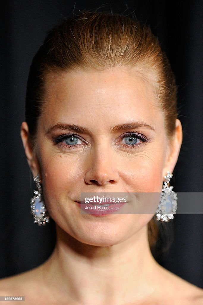 Actress <a gi-track='captionPersonalityLinkClicked' href=/galleries/search?phrase=Amy+Adams&family=editorial&specificpeople=213938 ng-click='$event.stopPropagation()'>Amy Adams</a> arrives at the 38th Annual Los Angeles Film Critics Association Awards at InterContinental Hotel on January 12, 2013 in Century City, California.