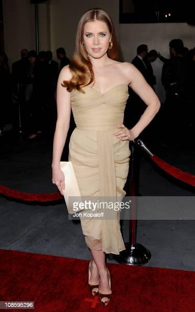 Actress Amy Adams arrives at the 63rd Annual DGA Awards at the Grand Ballroom at Hollywood Highland Center on January 29 2011 in Hollywood California