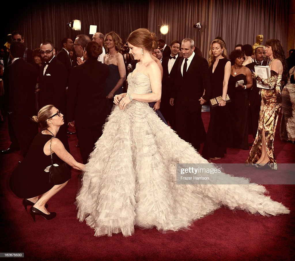 Actress Amy Adams arrives at the 85th Annual Academy Awards at Hollywood & Highland Center on February 24, 2013 in Hollywood, California.