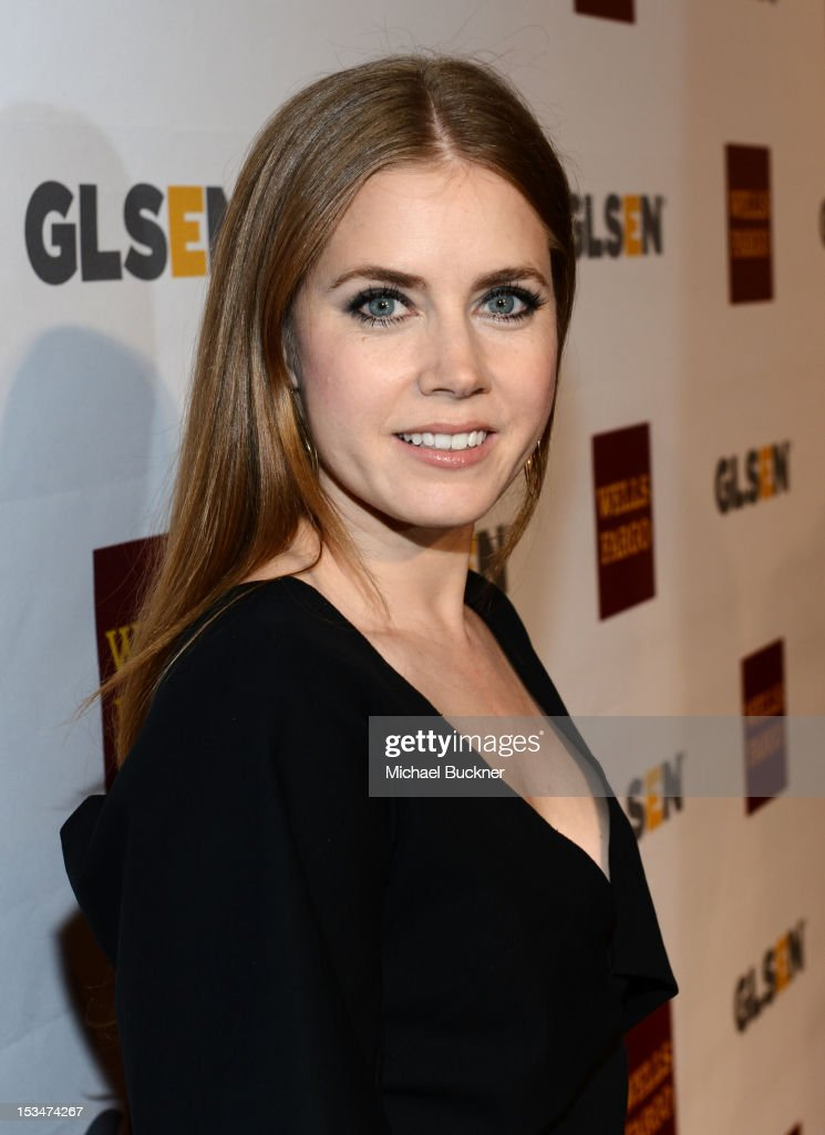 Actress Amy Adams arrives at the 8th Annual GLSEN Respect Awards held at Beverly Hills Hotel on October 5, 2012 in Beverly Hills, California.