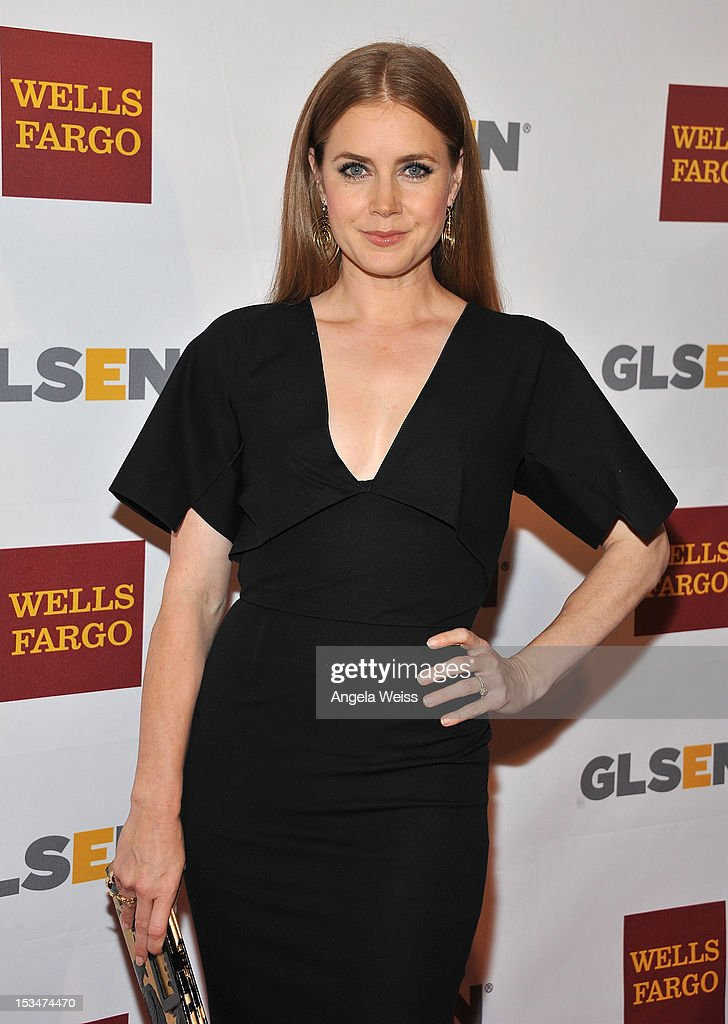 Actress Amy Adams arrives at the 8th annual GSLEN Respect Awards at Beverly Hills Hotel on October 5, 2012 in Beverly Hills, California.
