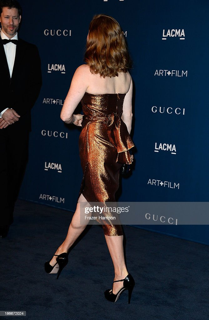 Actress Amy Adams arrives at the LACMA 2013 Art + Film Gala on November 2, 2013 in Los Angeles, California.