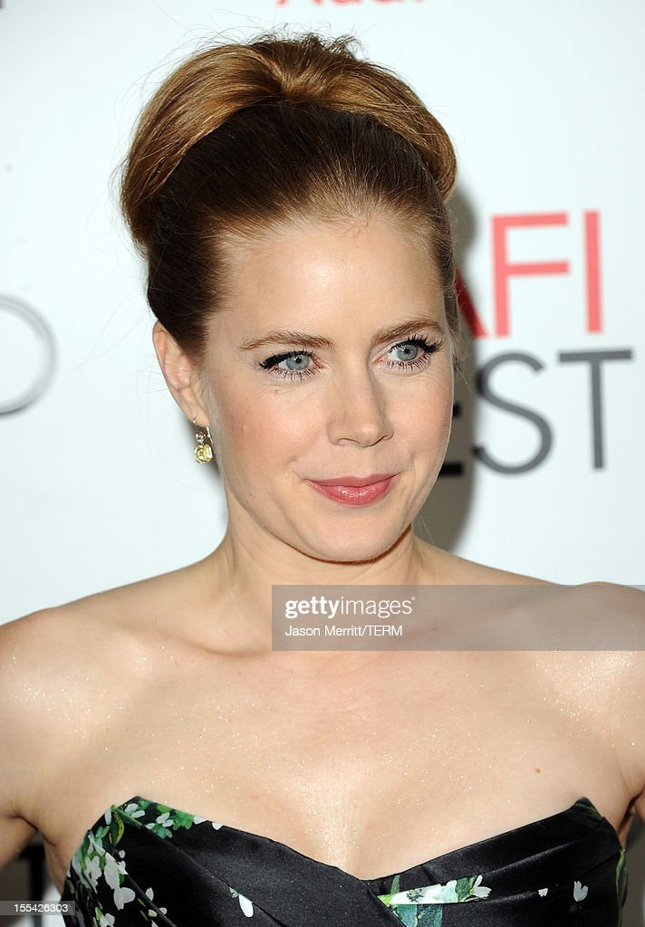 Actress Amy Adams arrives at the 'On The Road' premiere during the 2012 AFI Fest presented by Audi at Grauman's Chinese Theatre on November 3, 2012 in Hollywood, California.