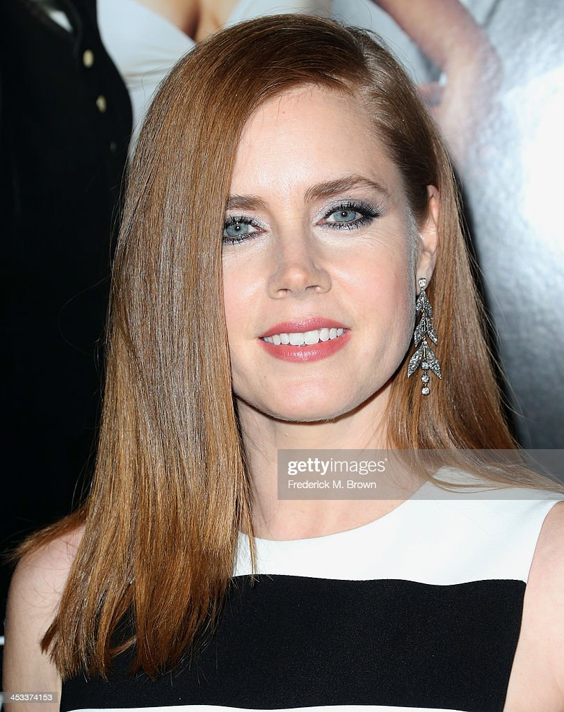 Actress Amy Adams arrives at the special screening of Columbia Pictures and Annapurna Pictures' 'American Hustle' at the Directors Guild Theatre on December 3, 2013 in Los Angeles, California.