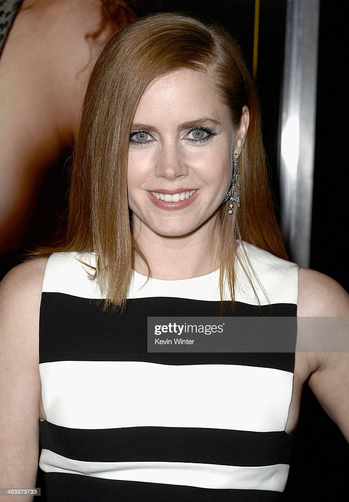 Actress <a gi-track='captionPersonalityLinkClicked' href=/galleries/search?phrase=Amy+Adams&family=editorial&specificpeople=213938 ng-click='$event.stopPropagation()'>Amy Adams</a> attends Columbia Pictures And Annapurna Pictures' 'American Hustle' Special Screening at Directors Guild Of America on December 3, 2013 in Los Angeles, California.