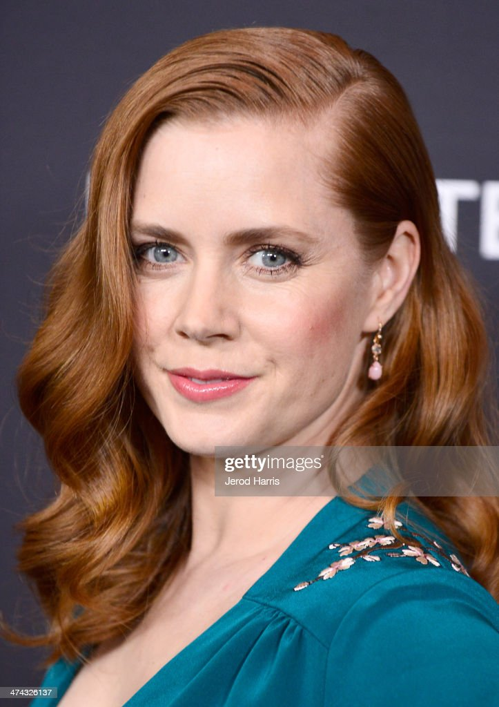 Actress Amy Adams attends the 16th Costume Designers Guild Awards with presenting sponsor Lacoste at The Beverly Hilton Hotel on February 22, 2014 in Beverly Hills, California.