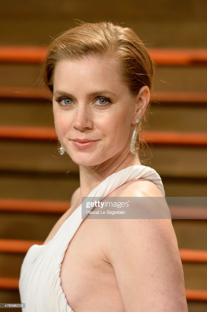 Actress Amy Adams attends the 2014 Vanity Fair Oscar Party hosted by Graydon Carter on March 2 2014 in West Hollywood California