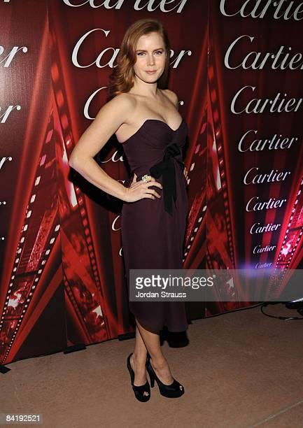 Actress Amy Adams attends the 20th anniversary of the Palm Springs International Film Festival Awards Gala presented by Cartier held at the Palm...