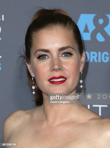 Actress Amy Adams attends the 20th Annual Critics' Choice Movie Awards at the Palladium on January 15 2015 in Los Angeles California