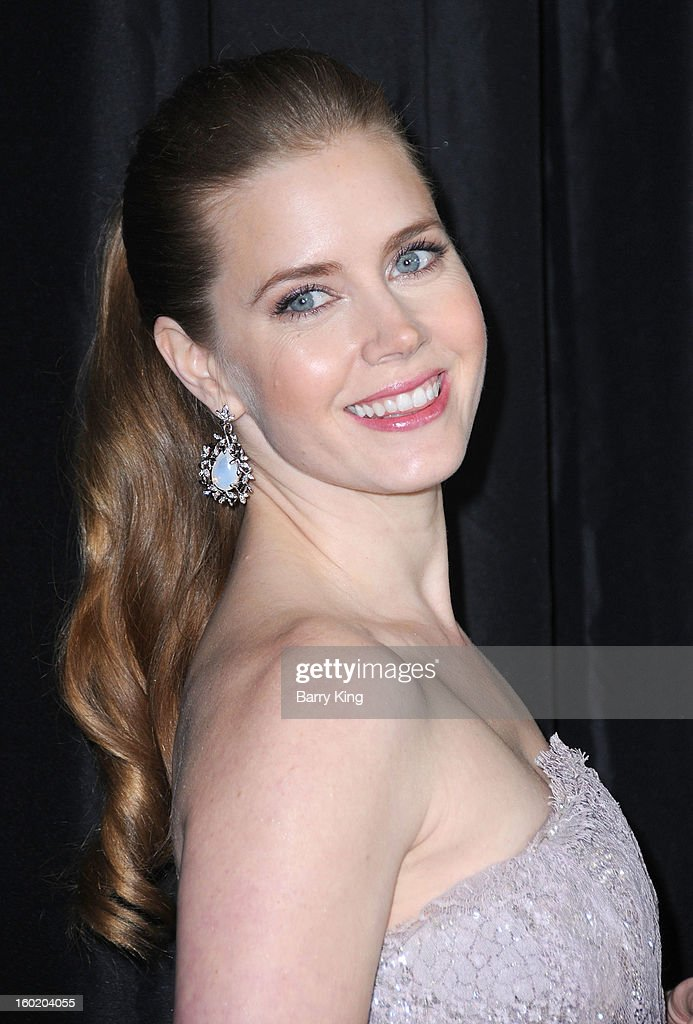Actress Amy Adams attends the 38th annual Los Angeles Film Critics Association Awards at InterContinental Hotel on January 12, 2013 in Century City, California.