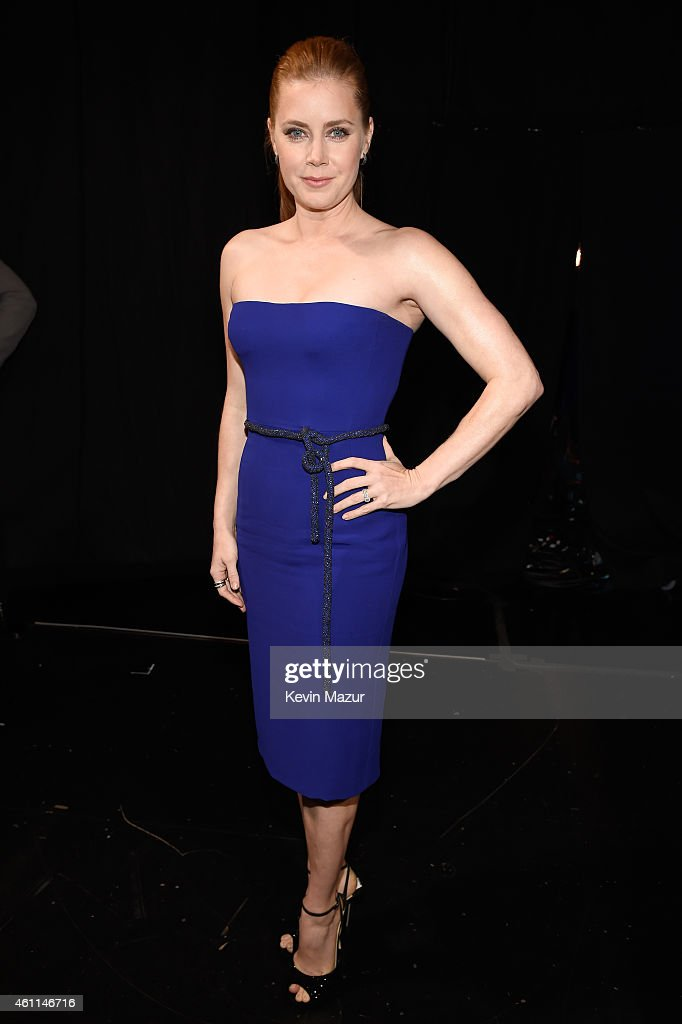 Actress <a gi-track='captionPersonalityLinkClicked' href=/galleries/search?phrase=Amy+Adams&family=editorial&specificpeople=213938 ng-click='$event.stopPropagation()'>Amy Adams</a> attends The 41st Annual People's Choice Awards at Nokia Theatre LA Live on January 7, 2015 in Los Angeles, California.