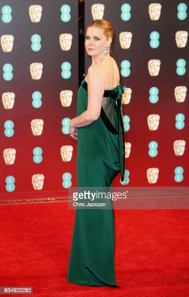 Actress Amy Adams attends the 70th EE British Academy Film Awards at Royal Albert Hall on February 12 2017 in London England