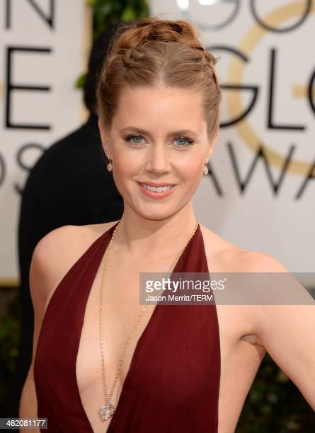 Actress Amy Adams attends the 71st Annual Golden Globe Awards held at The Beverly Hilton Hotel on January 12 2014 in Beverly Hills California