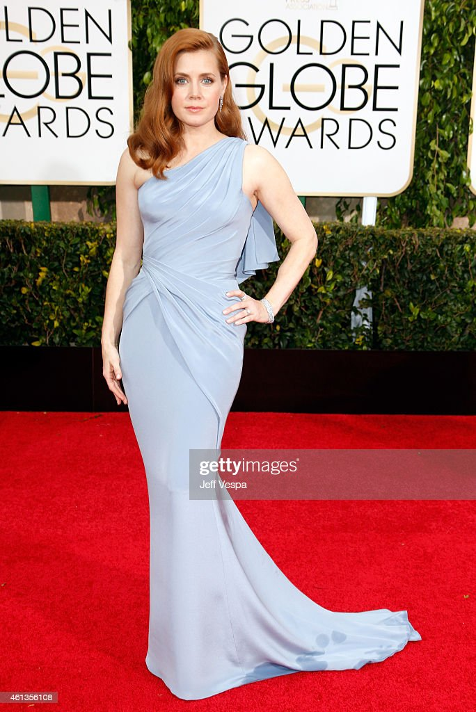 Actress Amy Adams attends the 72nd Annual Golden Globe Awards at The Beverly Hilton Hotel on January 11 2015 in Beverly Hills California