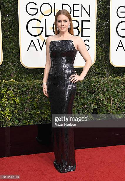 Actress Amy Adams attends the 74th Annual Golden Globe Awards at The Beverly Hilton Hotel on January 8 2017 in Beverly Hills California