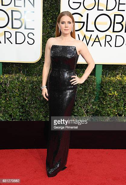 Actress Amy Adams attends the 74th Annual Golden Globe Awards held at The Beverly Hilton Hotel on January 8 2017 in Beverly Hills California