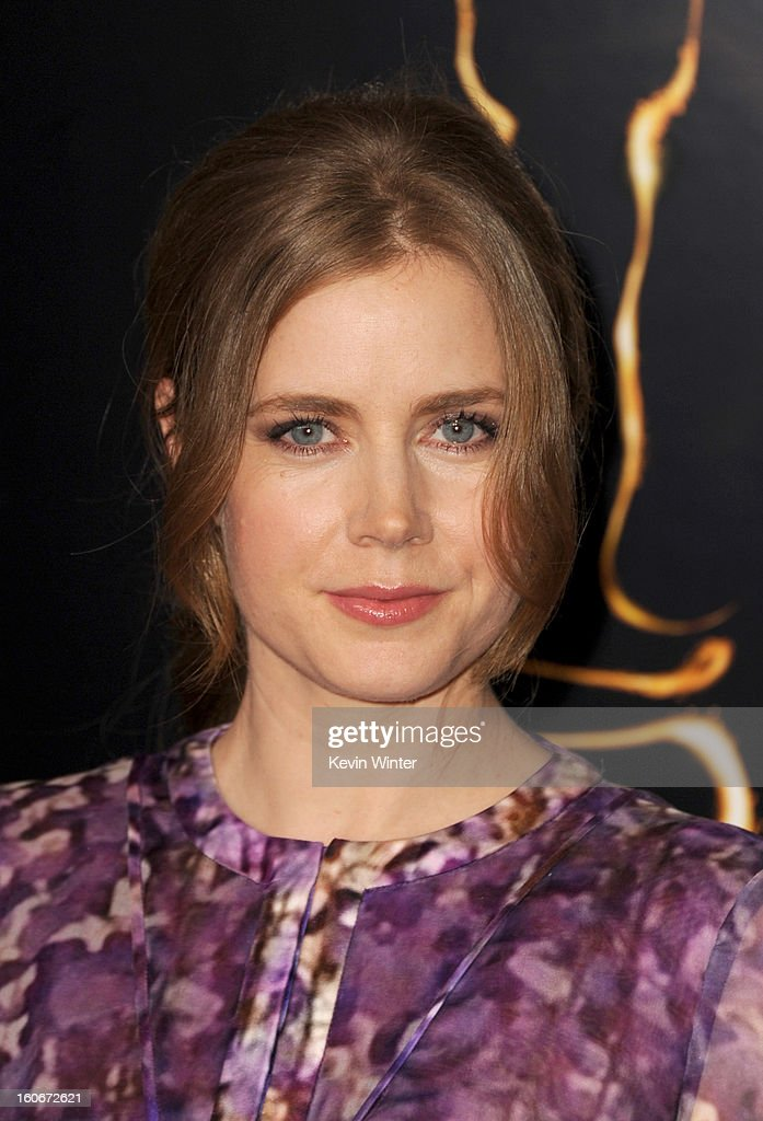 Actress Amy Adams attends the 85th Academy Awards Nominations Luncheon at The Beverly Hilton Hotel on February 4, 2013 in Beverly Hills, California.