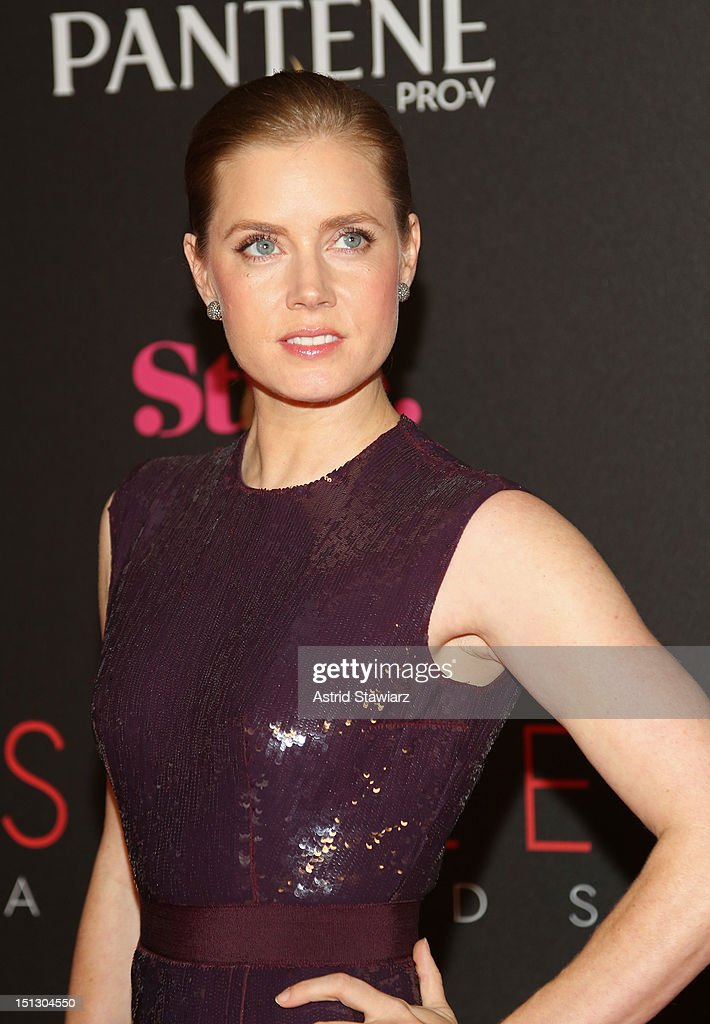 Actress Amy Adams attends the 9th annual Style Awards during Mercedes-Benz Fashion Week at The Stage at Lincoln Center on September 5, 2012 in New York City.